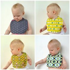 Set of 3 Your Choice of Fabric Adjustable Reversible by ablemabel, $21.00