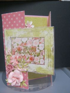 more mothers day cards – Kaisercraft Cottage Rose. Rose Cottage, Mothers Day Cards, Rubber Stamping, Card Making, Paper Crafts, Simple, Birthday, Flowers, How To Make