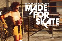 """Nike SB """"Made for Skate"""" Exhibition & Pop-Up Shop: Kicking off their """"Made for Skate"""" campaign, the Nike SB Camp sets sail in Amsterdam. Nike Skateboarding, Camping Set, Nike Sb, Hunter Boots, Rubber Rain Boots, Kicks, Running, Shopping, Caravan"""