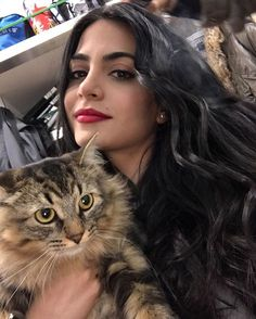"35.6k Likes, 158 Comments - Shadowhunters (@shadowhunterstv) on Instagram: ""Me and my furry set BFF Stella! - @EmeraudeToubia #EmeraudeTakeover"""