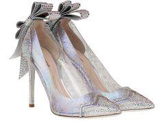 Nicholas Kirkwood Cinderella inspired glass slippers