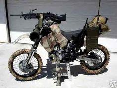 Combat dirt bike