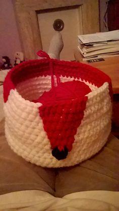 Ravelry: Crochetfreak73's Foxy basket
