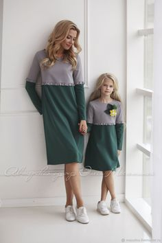 Individual tailoring, family bow Related posts:Core workouts, Easiest to Hardest Mom And Baby Outfits, Kids Outfits, Mother Daughter Fashion, Mother Daughter Matching Outfits, Kids Fashion, Fashion Outfits, Fashion Fashion, Mode Mantel, Dresses Kids Girl