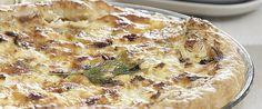 Συνοδέψτε το κυρίως πιάτο σας με μια γευστική, αλμυρή τάρτα με κολοκυθάκια, φέτα