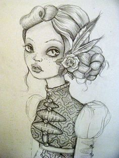 Drawin by Rudy Fig, via Flickr