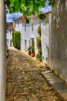 Street in Castillo de Castellar, Cádiz, Spain.