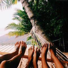 Einfach mal chillen am Strand und die Aussicht und den Moment genießen: leben !!