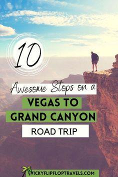 Vegas To Grand Canyon, Grand Canyon Vacation, Grand Canyon West, Arizona Road Trip, Road Trip Usa, Arizona Travel, Usa Travel Guide, Travel Usa, Budget Travel