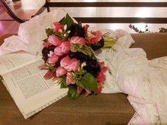 Buquê tulipas negras | Evento Inspire Brides - Shopping ABC Paulista | Produção e conceito: Inspire Blog