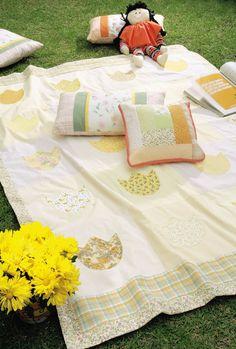 Colcha de patchwork / DIY, Craft, Upcycle