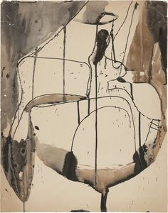 Richard Diebenkorn . untitled, 1952-53