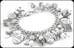 Bible Verse, Bible Bracelet, Religious Bracelet, Scripture Jewelry, Religious Jewelry - Blackberry Designs Jewelry