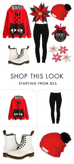 """""""Christmas is just 6 days away"""" by emmoniellexmy-kpop-bias on Polyvore featuring Helmut Lang, Dr. Martens and Sage & Co."""