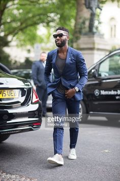 tinie tempah style 2015   Tinie Tempah during The London Collections Men SS16 at on June 14 ...