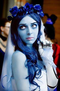 Corpse Bride costume #HalloweenMakeup #Halloween #makeup #party #HalloweenIdeas #beauty #HalloweenCostume #ideas #costumes #inspiration #crafts #DIY #howto #tutorial