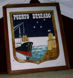 Escudo de Puerto Deseado