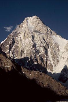 Gasherbrum IV from Baltoro Glacier