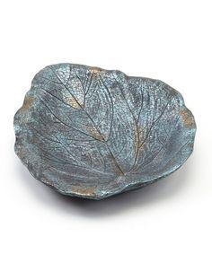 Look at this #zulilyfind! Iridescent Blue Large Leaf Feeder #zulilyfinds