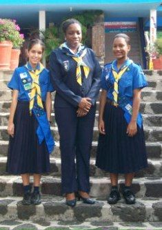 Guides from St Vincent and the Grenadines
