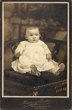 +~+~ Antique Photograph ~+~+  Sweet baby from long ago.