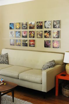Photos on canvas prints can brighten any space!