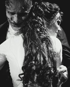 Ramin Karimloo as the Phantom and Sierra Boggess as Christine