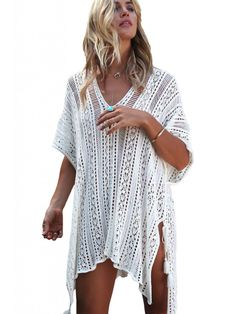 Imagini pentru rochii  scurte crosetate pt. plaja