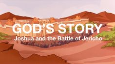 God's Story: Joshua and the Battle of Jericho God had a special plan for his family, but they had a hard time trusting him. A guy named Joshua trusted God with his whole heart, and God chose him to be the new leader. You can read all about what happened in the book of Numbers, in the Bible. Check out more great songs and videos at crossroadskidsclub.net!