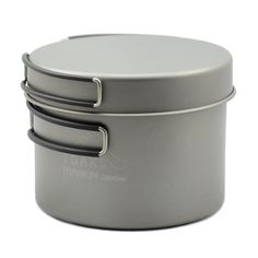 TOAKS Titanium 1300ml Pot with Pan *** You will love this! More info here : Camping equipment