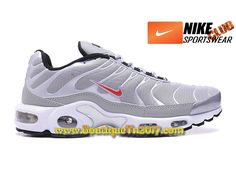 hot sale online 48015 78556 Nike Air Max Tn Tuned Requin 2017 Chaussures Nike Basket Pas Cher Pour Homme  Gris 604133-691