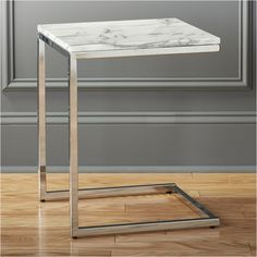 smart marble top c table