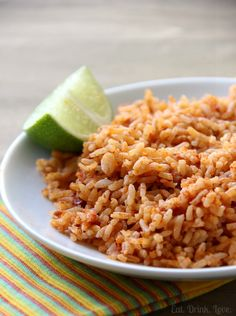 Easy Mexican Rice for Cinco de Mayo!