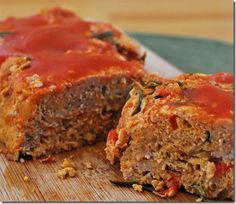 SLIMMING WORLD Chicken Meatloaf with a Rosemary, Garlic and Tomato Sauce