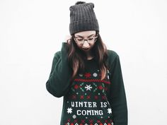 An Ode To Festive Sweaters.