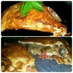 Le blog de Cata: Omelette à la ratatouille
