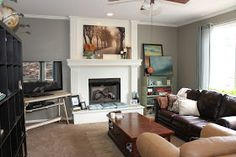 Oh So Lovely: LIVING ROOM BEFORE & AFTER