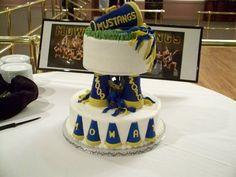 made this for my granddaughter's cheerleading banquet. The support ...