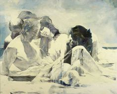 1stdibs | Balcomb Greene - Figures by the Sea