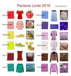 Deze Pantone Lente 2018 kleuren zijn er voor jouw #kleurtype. Zijn ze warm of koel deze kleuren, gedempt of helder, licht of diep, dat lees je op dit blog.