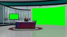virtual screen studio backgrounds education psd greenscreen basement datavideovirtualset tvs divider