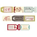 Fancy Pants Designs - Merry Little Christmas Collection - Ticket Roll