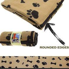 "Manta Marrón para perros, tamaño grande""L"" 130 x ""P"" 170 cm - Pile ribete Especial (bordes redondeados) por 16,95,- eurs. (gts.  envío gratis ) Grande, Bags, Bed Covers, Home, Handbags, Bag, Totes, Hand Bags"