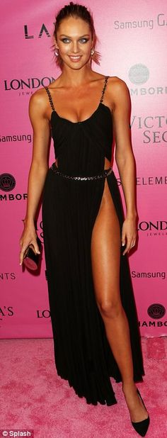 Candice Swanepoel - Victoria's Secret Fashion Show after-party