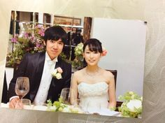 新郎新婦様からのメール シェ松尾松濤レストラン様へ 5月の装花 葉陰 : 一会 ウエディングの花