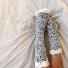 If the day comes I want to venture into sock crocheting (or knitting)...these puppies are 1st on my list. Awesome!