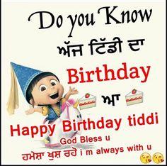 Pin By Amandeep Kaur On Birthday Wishes Pinterest Happy