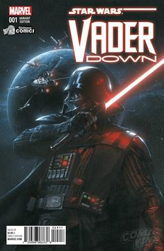 Star Wars: Vader Down #1 variant cover by Gabriele... - Art Vault