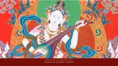 How are Buddhism and Hinduism Related? Krishna Das & Robert Thurman : Bu... Hindu Art, Gods And Goddesses, Hinduism, Buddhism, Krishna, Artwork, Anime, Painting, Fictional Characters