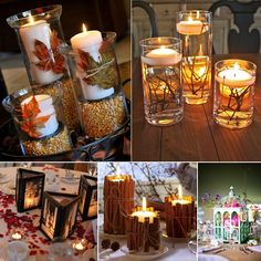 15 Creative Centerpiece Ideas for Weddings - http://www.amazinginteriordesign.com/15-creative-centerpiece-ideas-for-weddings/
